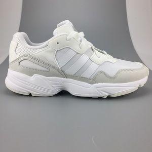 NEW Adidas Originals Yung-96 Triple White Shoes